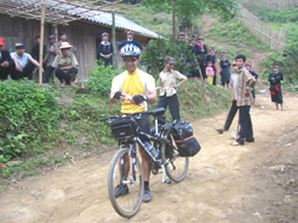 early start from DuongAm village